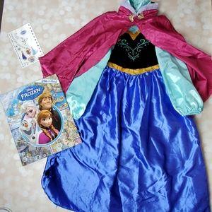 Disney Store Anna Costume Set